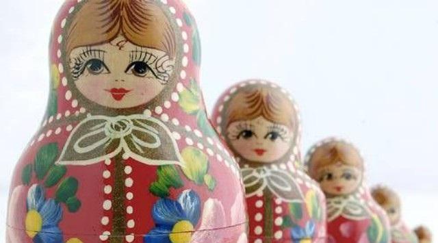 muñecas rusas o matrioskas