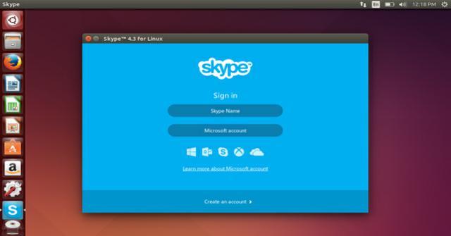 crear una cuenta en Skype