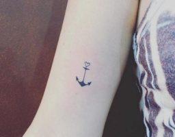 los tatuajes de anclas