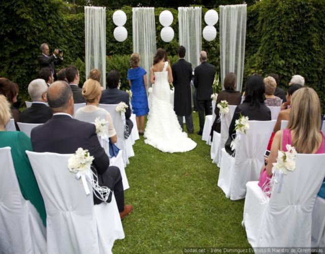 Cual es el protocolo para boda religiosa
