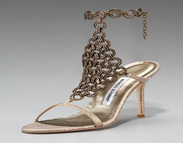 auténticos zapatos Manolo Blanik
