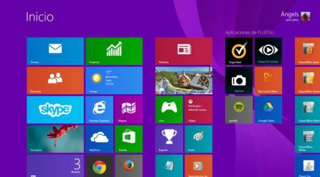capturas de pantalla en Windows 8