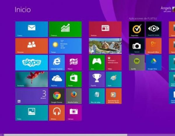 capturas de pantalla en Windows 8