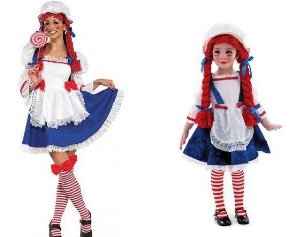 disfraces de muñecas