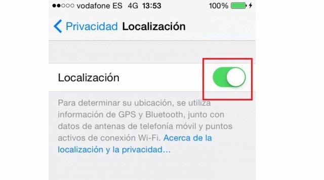 ¿Cómo se activa el GPS en el iPhone?