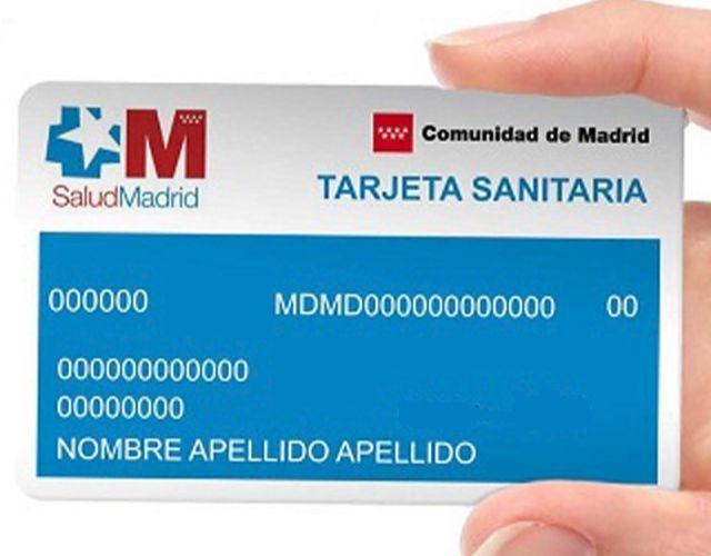 obtener la tarjeta sanitaria en Madrid