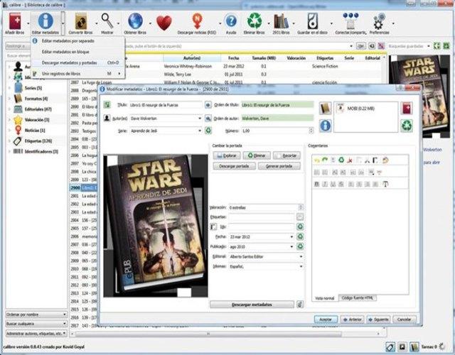 Cómo convertir libros electrónicos en formato kndle, calibre