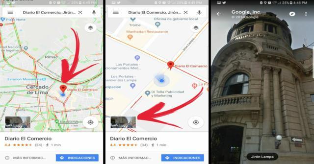 google maps el street view