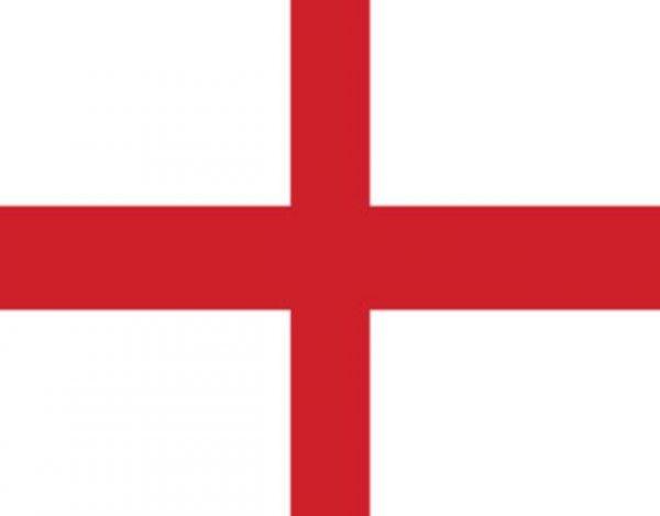 qué significan los colores de la bandera de Inglaterra
