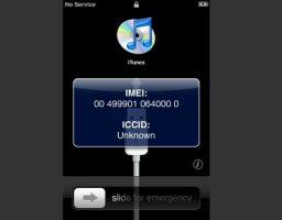IMEI en iPhone