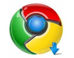 encontrar lo que descarga Chrome