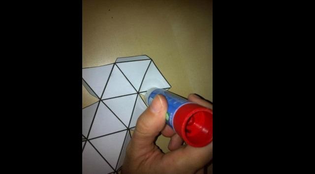 hacer un icosaedro