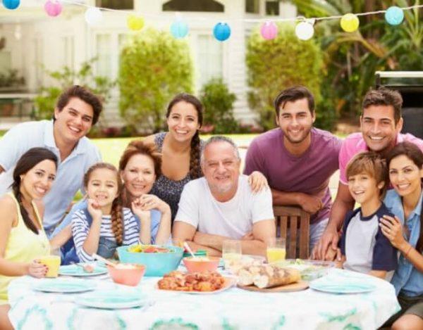 organizar una reunión familiar