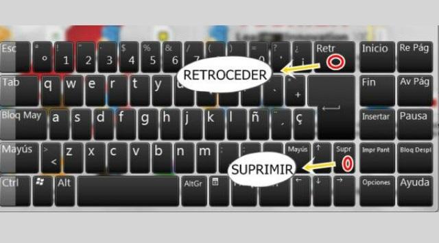teclado del ordenador