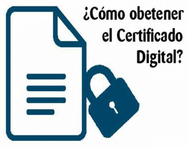 obtener un certificado digital