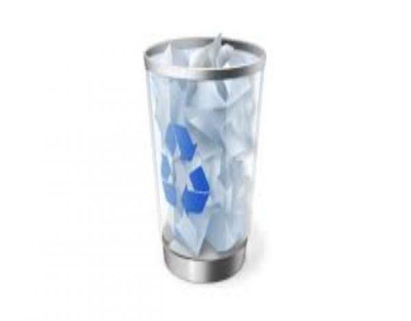 papelera de reciclaje: quitar y poner en escritorio