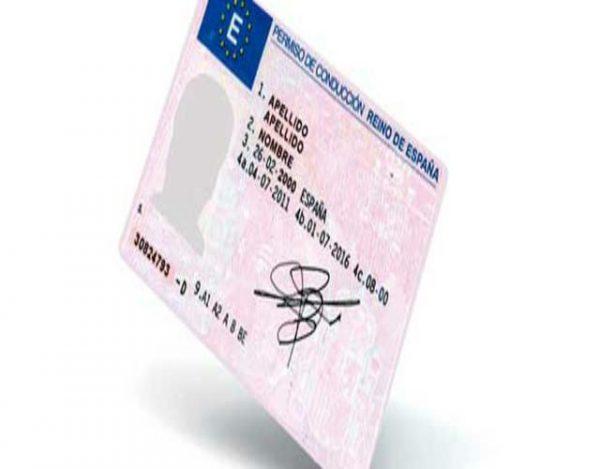 puntos del carnet de conducir