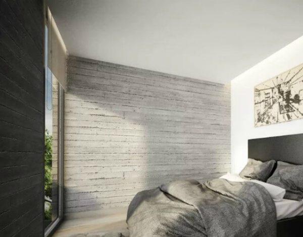 dormitorio para hombres