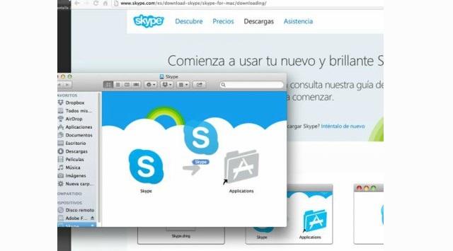 instalar Skype para Mac