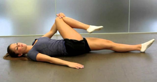 estiramientos en las piernas