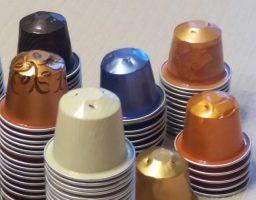 5 manualidades con cápsulas de café
