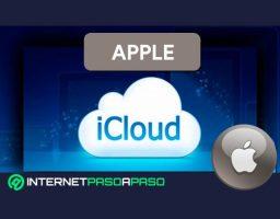 crear una cuenta iCloud