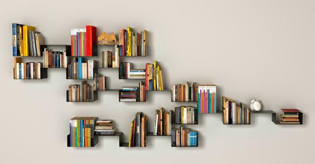 estanterias para libros y revistas