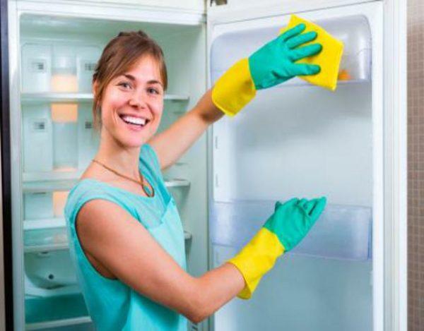 desinfectar la nevera