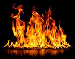 fuego para cocinar