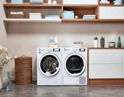 los símbolos de la lavadora