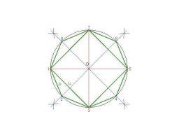 área y perímetro de octágono