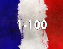 números en francés