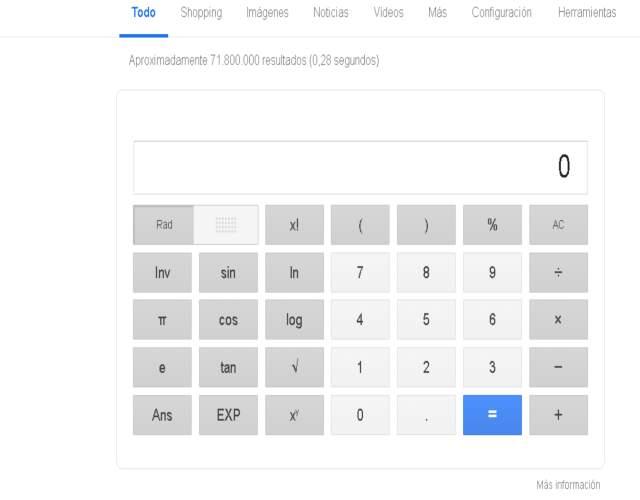 Cómo usar la calculadora de google