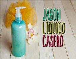 Cómo hacer jabón líquido