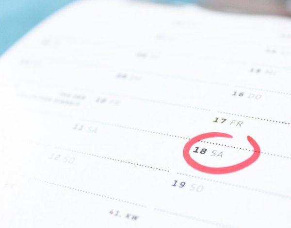 Cómo se escriben las fechas en inglés