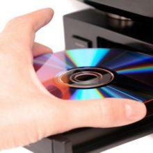 un cd o dvd