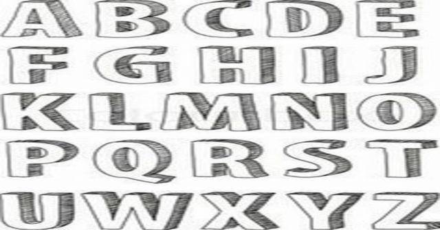 letras en 3d