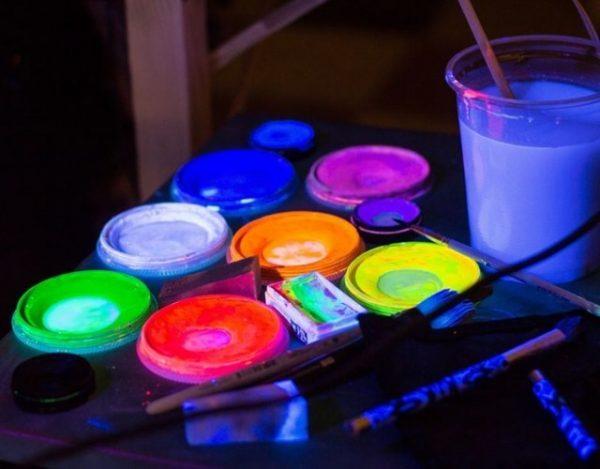 pintura fosforescente