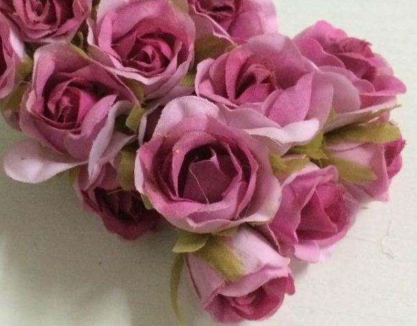 Cómo hacer flores de tela