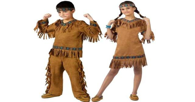 disfraz de india
