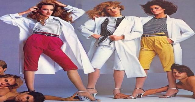 Ropa de los años 80