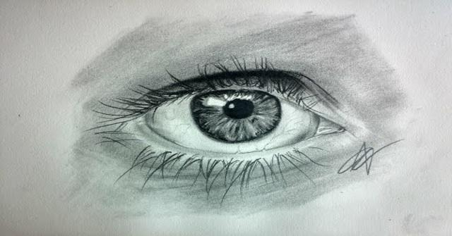un ojo realista