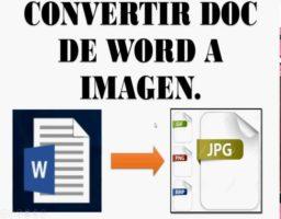 convertir de word a jpg