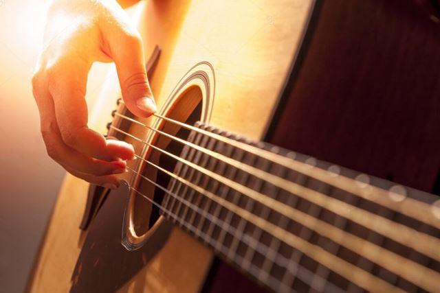 aprender las notas de la guitarra