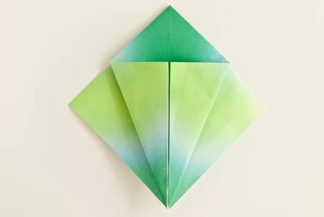 grulla de origami