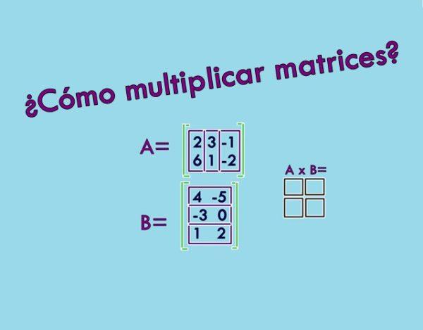 multiplicar matrices