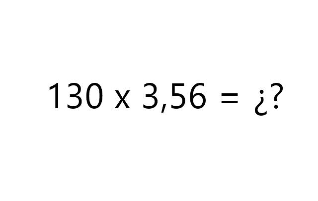 multiplicar con decimales