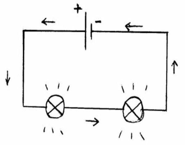 hacer un circuito en serie