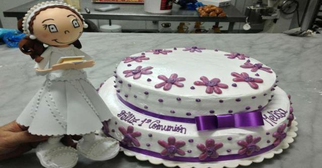 tartas de comunión