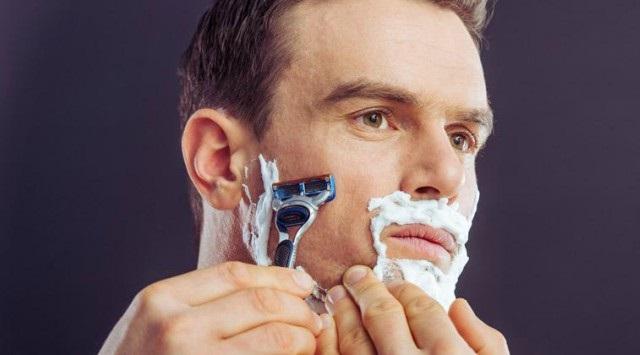 afeitarse la cara